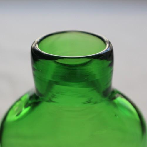 花瓶 花器 midori フラスコ型 吹きガラス 一輪挿し 手作り tonari cayest 03