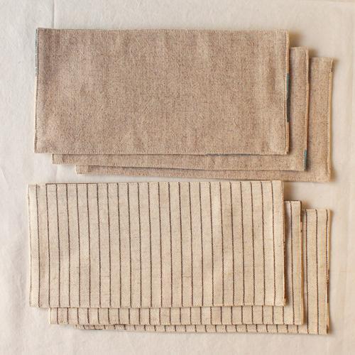 布コースター 長方形 鳥 / 女の子柄 aosansyo 綿生地 11cmx22cm シルクスクリーン|cayest|05