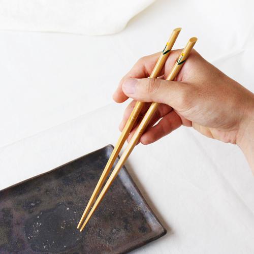 竹箸 チューリップ 23.5cm 大人用 赤/黄 かわいい お箸 国産孟宗竹 日本製|cayest|07