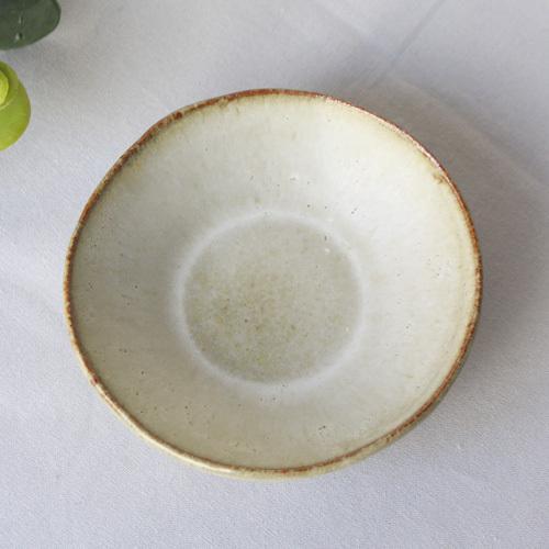 焼締 小皿 丸型 釉薬 利休白茶 塗り分け 丹波焼 醤油皿 豆皿 ほっこり 素朴 かわいい 和食器 cayest 09