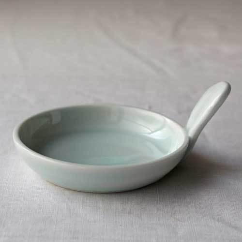 小皿 豆皿 青磁 1点のみ ギョーザのタレ皿 丸皿 かわいい 涼やか 水色 cayest 02