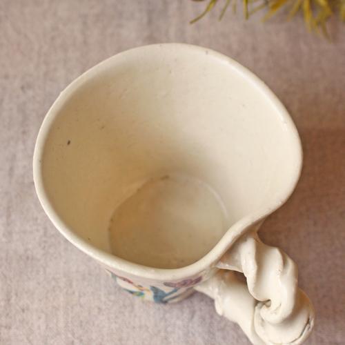 マグカップ 野花柄 ねじねじ取っ手 コーヒーカップ 180cc 廣川みのり 陶器 かわいい|cayest|07
