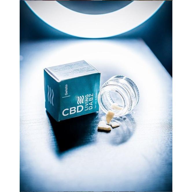 CBD LIVING 固形ワックス 0.5g 超高濃度 CBD91.4% ナチュラルテルペン3% cbd-life 04