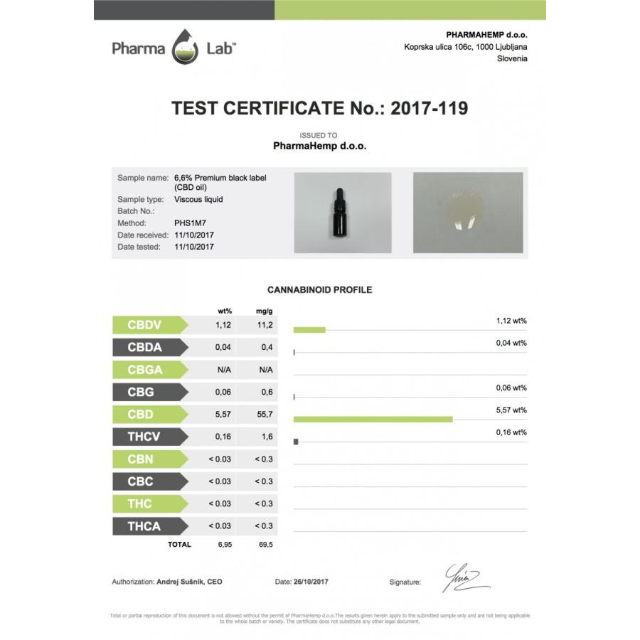 CBDヘンプオイル 6.6% 660mg/10ml ファーマヘンプ プレミアムブラック|cbd-life|02
