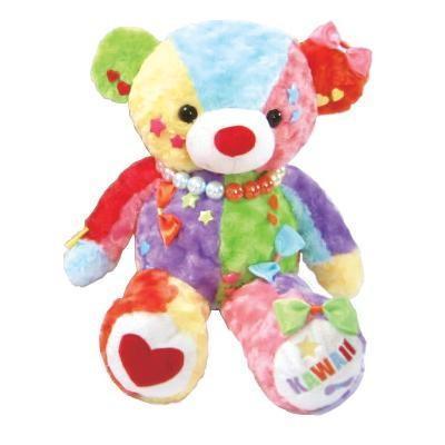 (代引不可)KAWAII BEAR(カワイイベア) ぬいぐるみ オルゴール「星に願いを」 L
