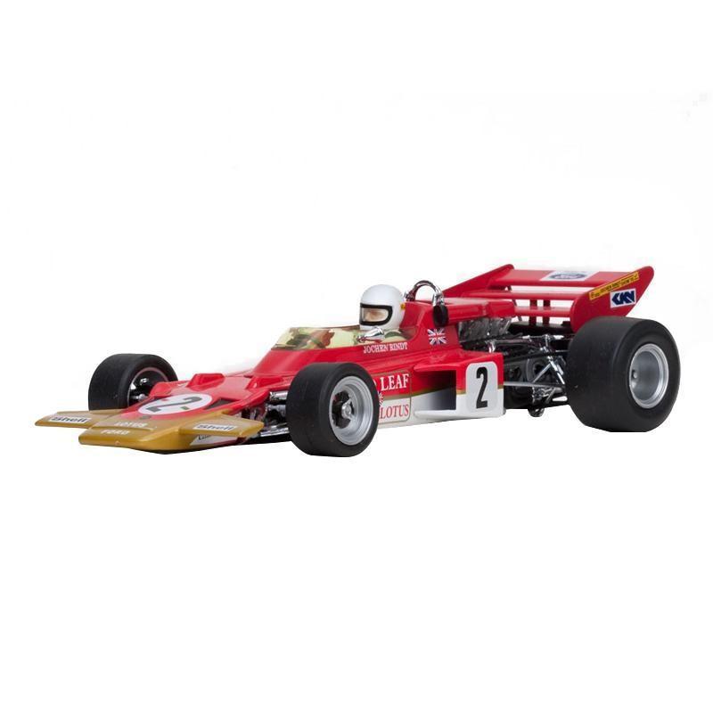 (代引不可)Quartzo/カルツォ ロータス 72C - ♯24 Emerson Fittipaldi (1970 USA Grand Prix Winner) 1/18スケール 18270