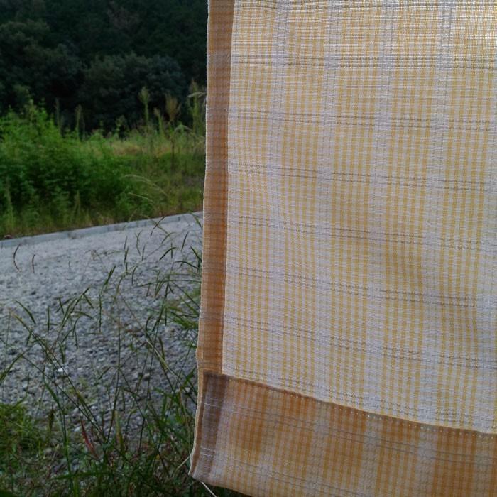 カジュアルチェック 巾100cm×丈178cm 2枚組 日本製ジャガード織りカーテン|ccnet|04