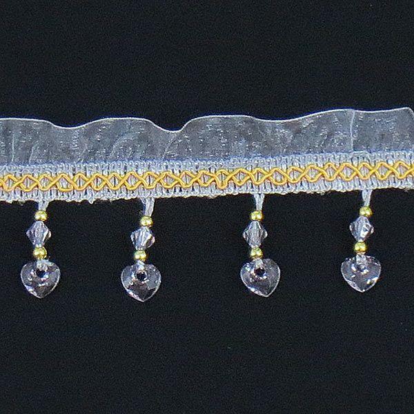 ムジのカーテンを可愛くする装飾アイテム・ハート柄 (1級遮光カーテン・ブラザー1組分の価格です) ccnet 06