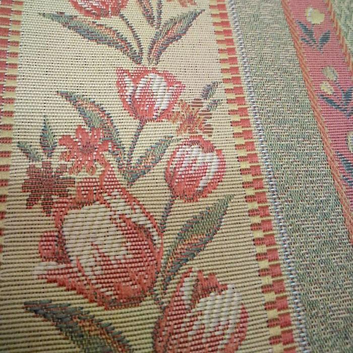 チューリップストライプ 巾100cm×丈178cm 2枚組 日本製ジャガード織りカーテン|ccnet|04