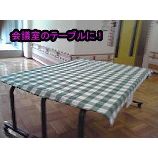 日本製・テーブルクロス チェック柄 Mサイズ 145cm×115cm ccnet 06