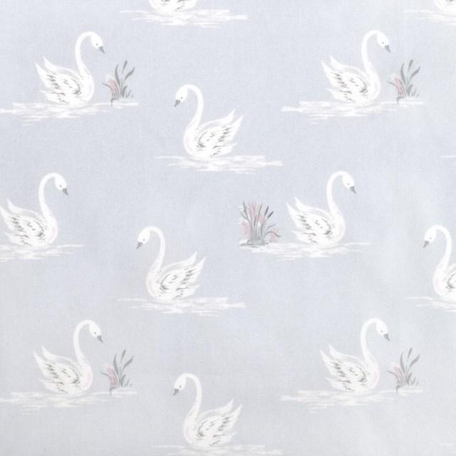 LAURA ASHLEY 画材・絵の具バッグ(サクラクレパス製 絵の具セット付き) Swans (子供用 画材セット 小学生 サクラクレパス)|ccstyle|09