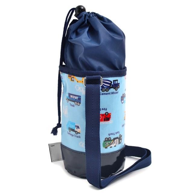 水筒カバー スモールタイプ アクセル全開はたらく車(ライトブルー) (ショルダー 子供 肩掛け 水筒ケース ボトルカバー 水筒ケース 水筒入れ)|ccstyle|02