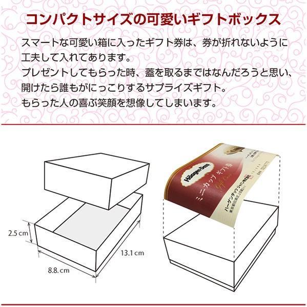 ハーゲンダッツギフト券 10枚 高級ギフトボックス 赤 ハーゲンダッツ アイスクリーム ギフト券 化粧箱入り|cdcstore|04