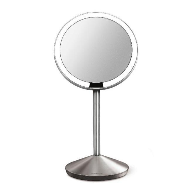 拡大鏡 ミニセンサーミラー ST3004 スタンドミラー メイク鏡 卓上ミラー 拡大鏡 拡大鏡 ST3004