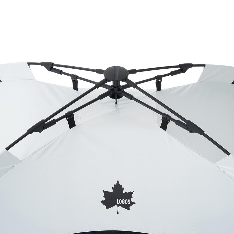 ロゴス LOGOS ソーラーブロック Q-TOP フルシェード-BA サンシェード テント ファミリー シェード 2人用 キャンプ アウトドア キャンプ用品 アウトドア用品|celeble|12