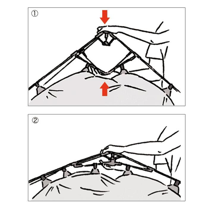 ロゴス LOGOS ソーラーブロック Q-TOP フルシェード-BA サンシェード テント ファミリー シェード 2人用 キャンプ アウトドア キャンプ用品 アウトドア用品|celeble|05