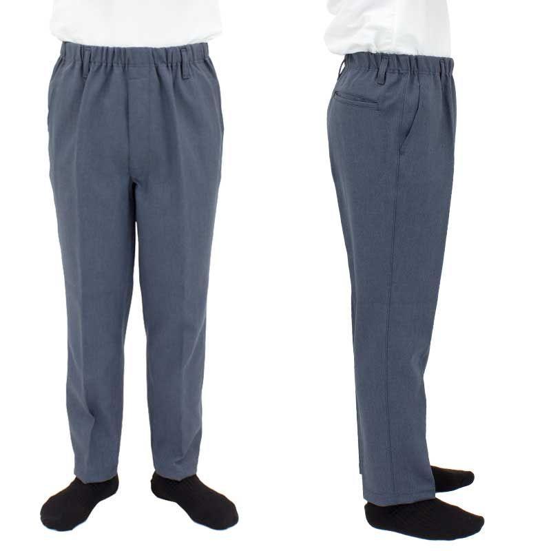 シニアファッション メンズ 70代 80代 90代 イージー らくらくスラックス風 パンツ (高齢者 シニアファッション 男性 紳士) 敬老の日 秋 介護 父の日|center-urashima|05