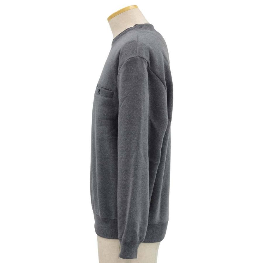 シニアファッション メンズ 70代 80代 90代 裏起毛 丸首 スウェット トレーナー 敬老の日 秋 介護 父の日|center-urashima|02