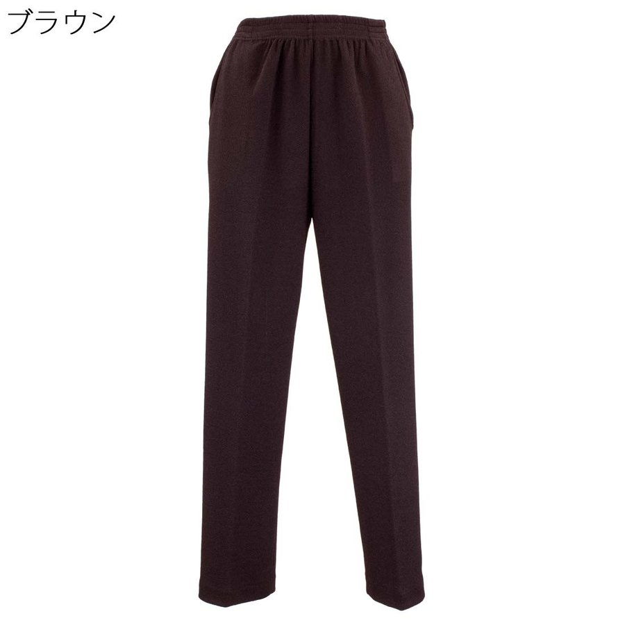 シニアファッション レディース 70代 80代 90代 婦人 らくらく のびのび ちりめん フリーパンツ 高齢者 お年寄り 敬老の日 シニア 服 ファッション 介護 母の日 center-urashima 09