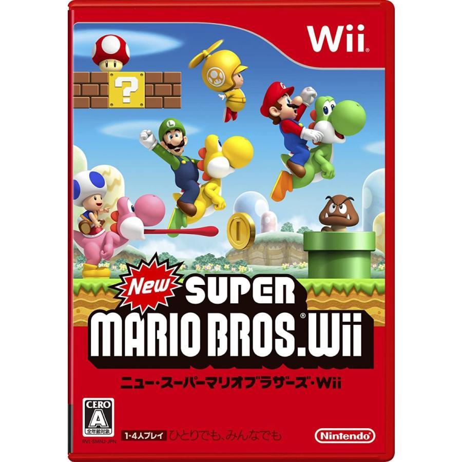Wii 本体 newスーパーマリオブラザーズ すぐに遊べるセット   送料無料 任天堂 中古 箱無し|centerwave|02