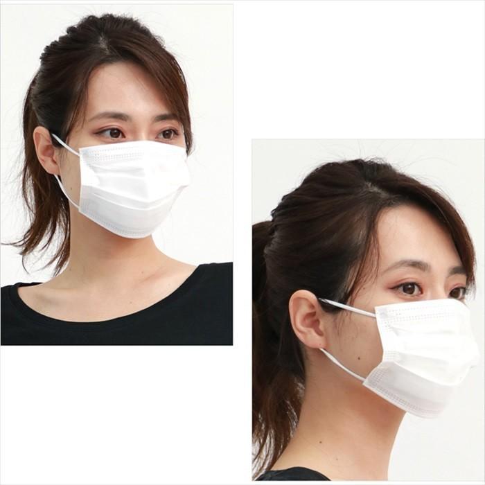 【送料無料 1000円ぽっきり】やや小さめ マスク 50枚 小さめ 医療 小さいマスク 使い捨て 3層構造 VFE 99% カット フィルター 立体 やや 小さめ 1000円 ポッキリ|centrage|08