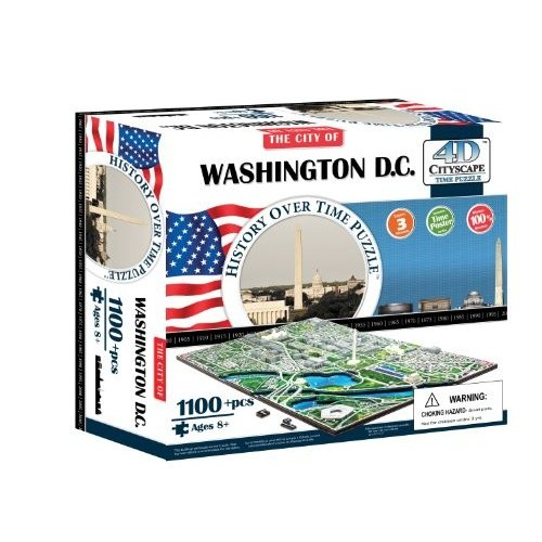 4D Washington DC Cityscape Time Puzzle