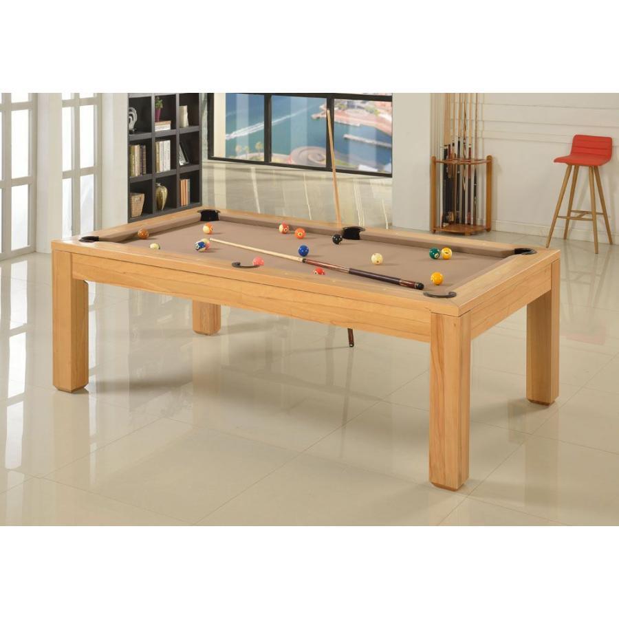 ビリヤード台 JBS ダイニングプールテーブル 03 -ウッド- 7フィート 8フィート