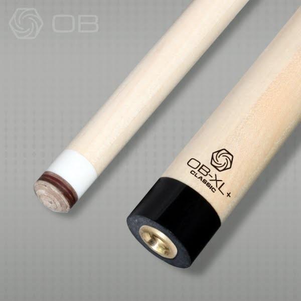 ビリヤード用品OB-XL+ Classic 14山 ハイテクシャフト黒の無地リング