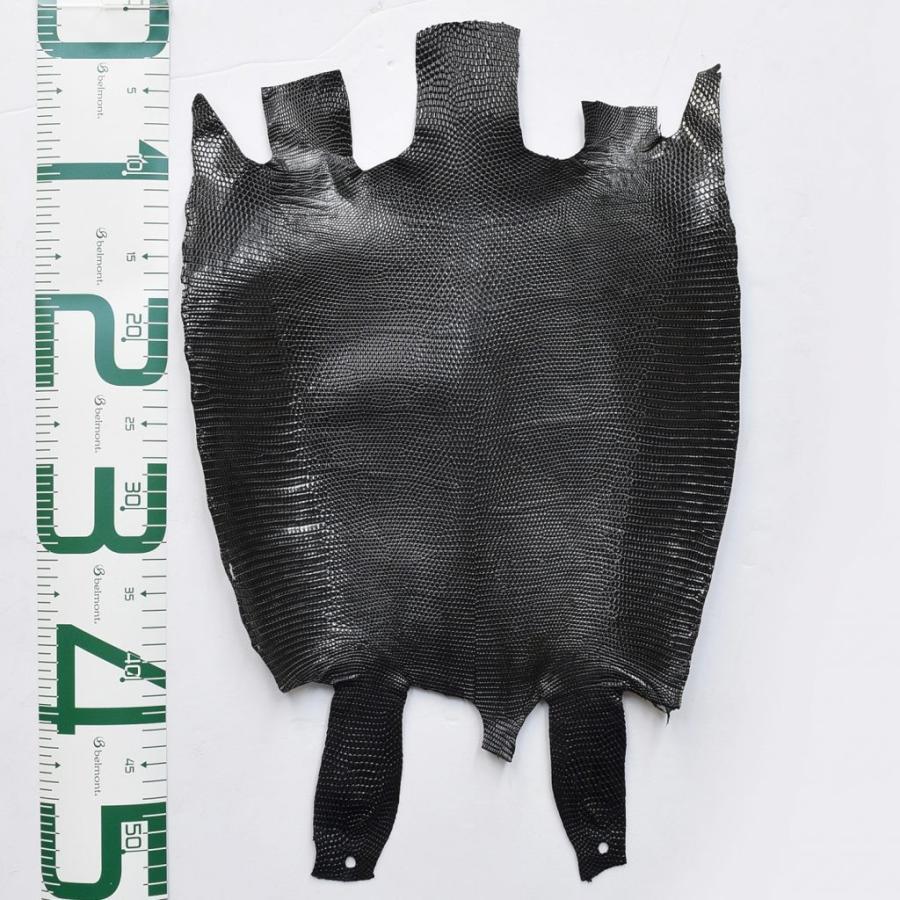 プレミアム・レザー/トカゲ革/Lizard(ブラック)サイズ:8.55deci plb-09