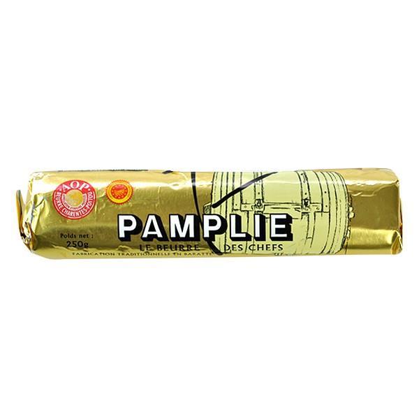 人気激安 パンプリー PAMPLIE 食塩不使用 AOPバター 売れ筋 ロール 250g×1 冷凍 2〜3営業日以内に出荷