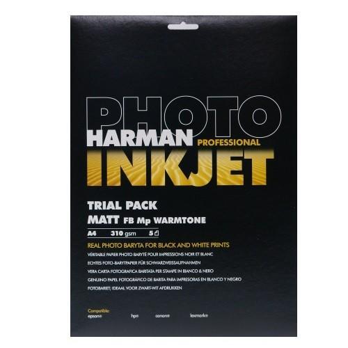 【生産終了】HARMAN PROFESSIONAL インクジェット用紙 MATT FB Mp WT A4 5枚入 cgc-webshop