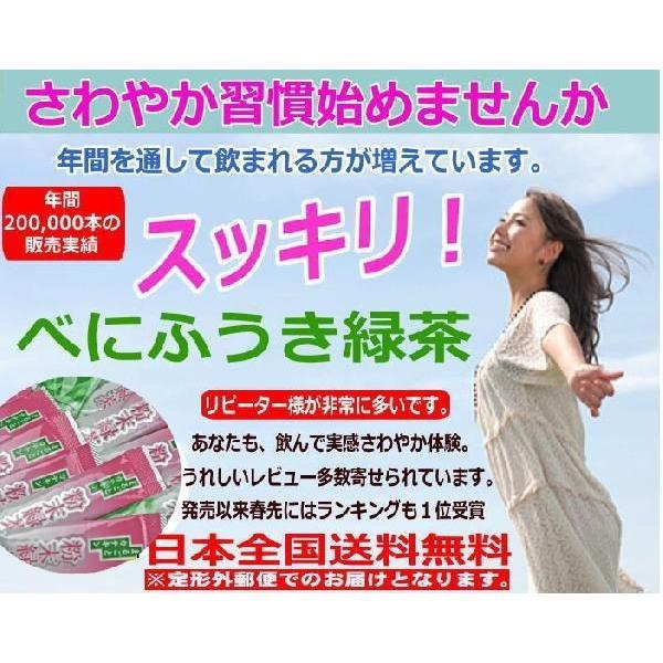 べにふうき茶 緑茶 粉末スティック 静岡産自園100% べにふうき  0.8g×30個 セール ポイント消化|chabatakechokusoubin|02