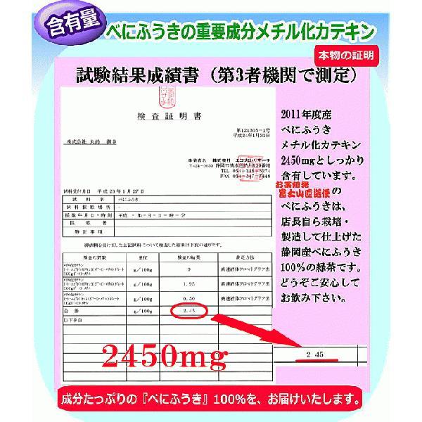 べにふうき茶飴 chabatakechokusoubin 04