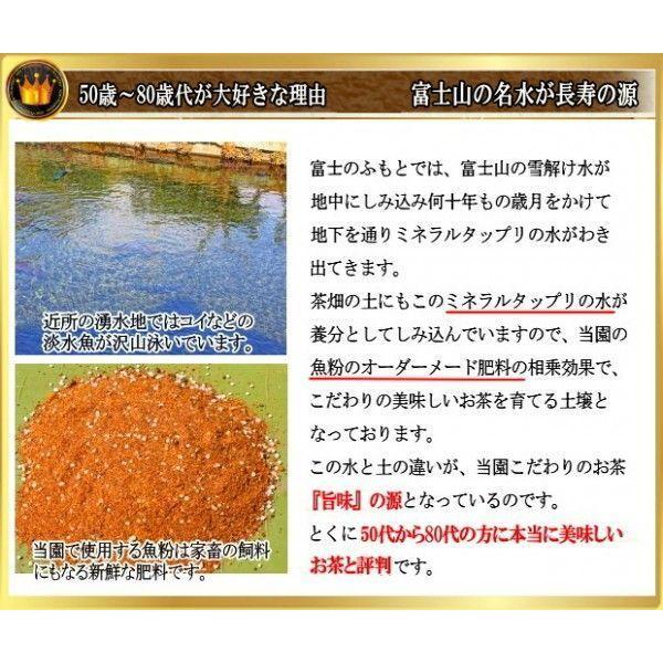お歳暮 お茶ギフト 青富士 紅富士深蒸し茶セット 静岡 土産 ギフト chabatakechokusoubin 03