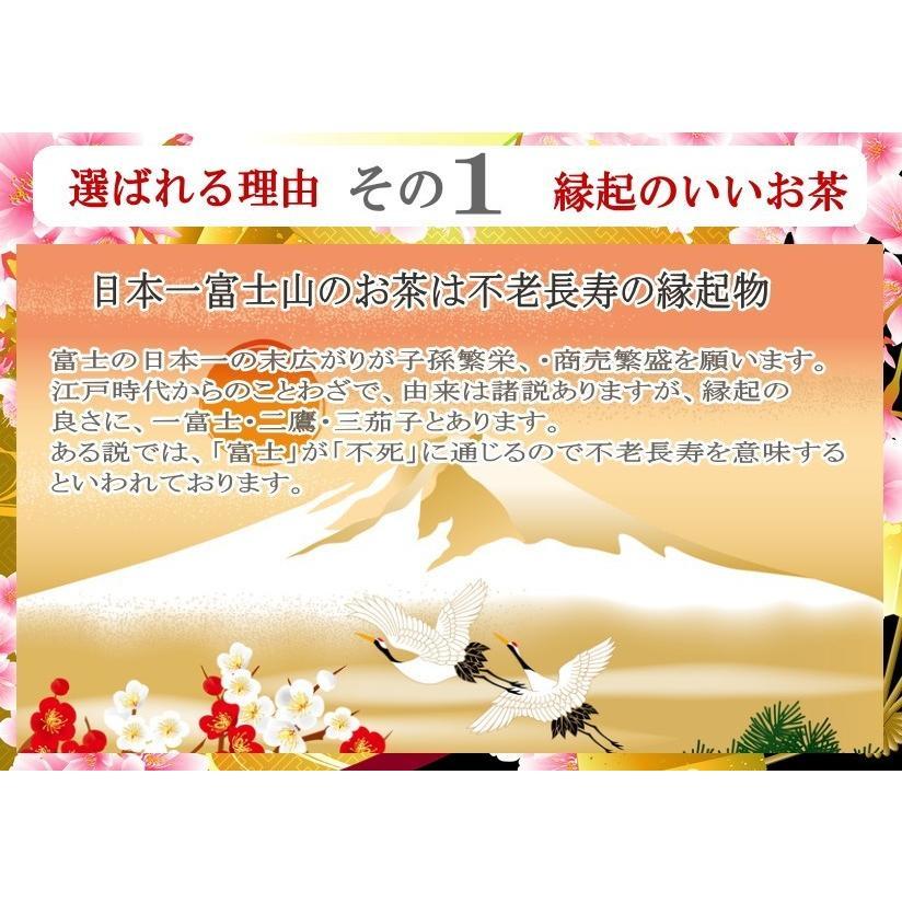 お歳暮 豪華木箱入れ お茶ギフト 富士山特選日本茶詰め合わせセット 静岡 贈り物 ギフト|chabatakechokusoubin|04