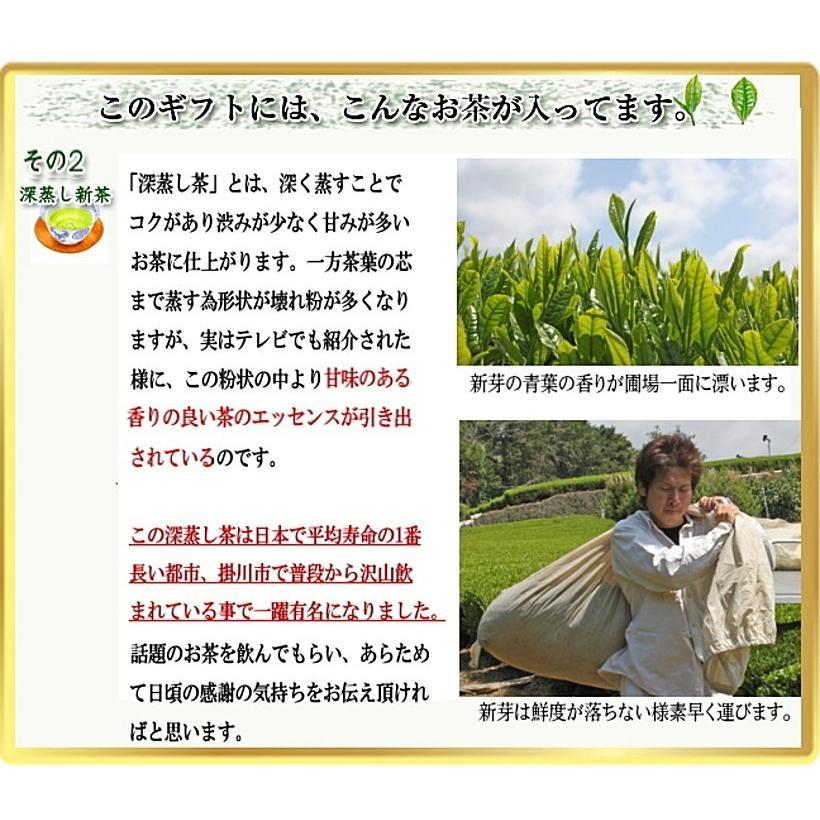 お茶ギフト 深蒸し茶 150g×2 静岡 土産 ギフト chabatakechokusoubin 02