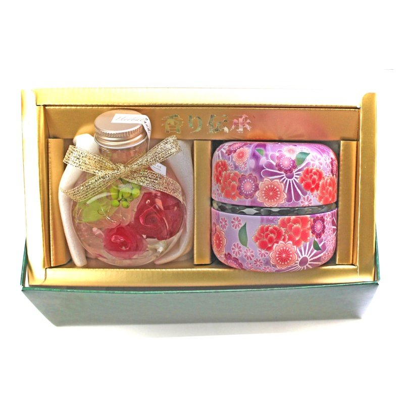 ハーバリウムと富士山の特上煎茶ギフト  母 女性 プレゼント お茶 ギフト お誕生日 内祝い ブリザーブドフラワー ドライフラワー 日本茶 chabatakechokusoubin 05