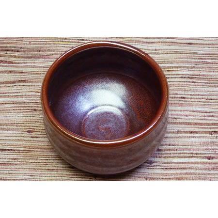 美濃焼鉄赤抹茶茶碗(赤)【茶道具/抹茶茶碗】|chagokorochaya|02