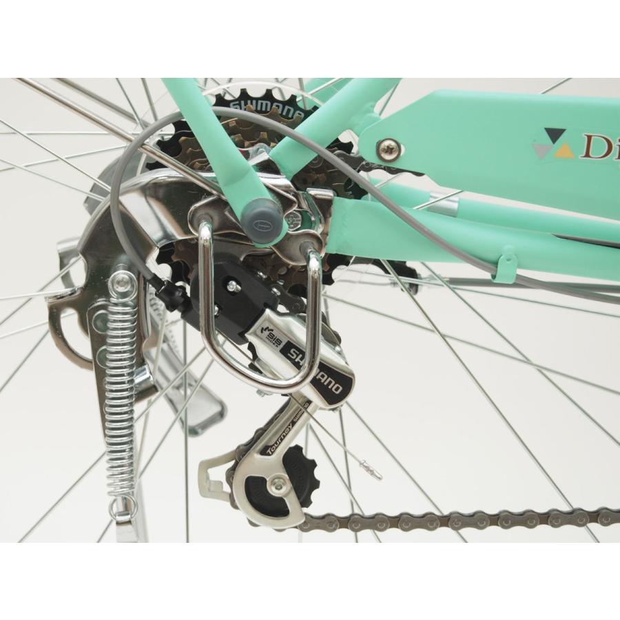 本州送料無料 軽快自転車 27インチ ディジョン 自転車 通勤 通学 街乗り サイクリング 実用|chalinx|11