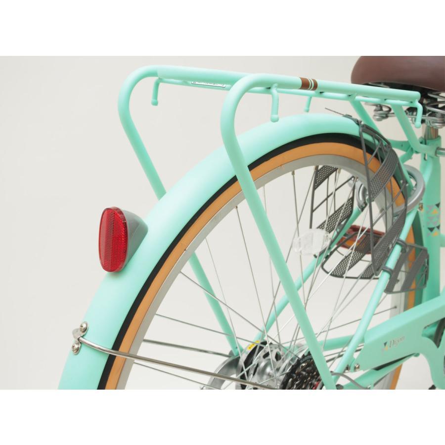 本州送料無料 軽快自転車 27インチ ディジョン 自転車 通勤 通学 街乗り サイクリング 実用|chalinx|14