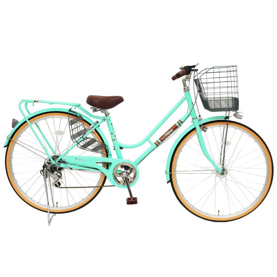 本州送料無料 軽快自転車 27インチ ディジョン 自転車 通勤 通学 街乗り サイクリング 実用|chalinx|03