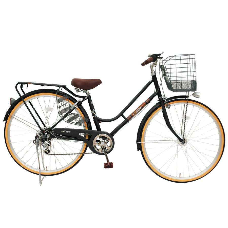 本州送料無料 軽快自転車 27インチ ディジョン 自転車 通勤 通学 街乗り サイクリング 実用|chalinx|04