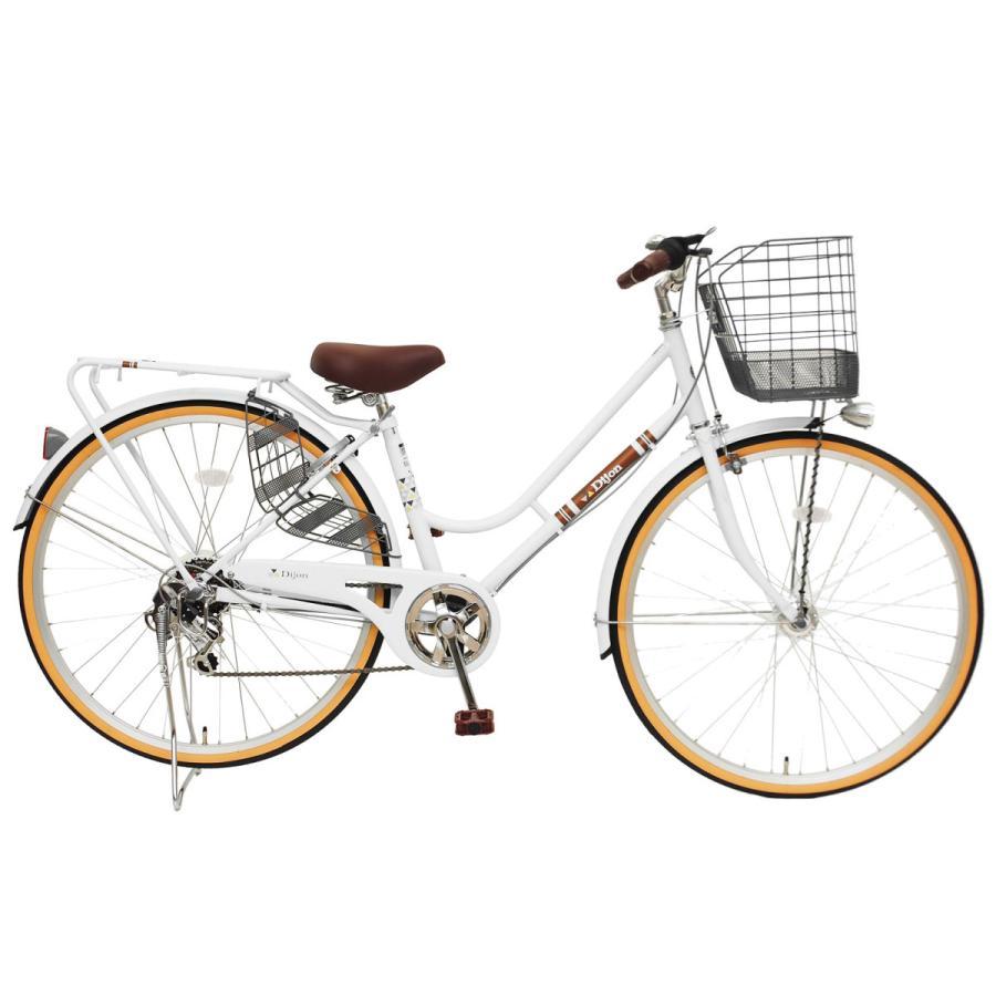 本州送料無料 軽快自転車 27インチ ディジョン 自転車 通勤 通学 街乗り サイクリング 実用|chalinx|05