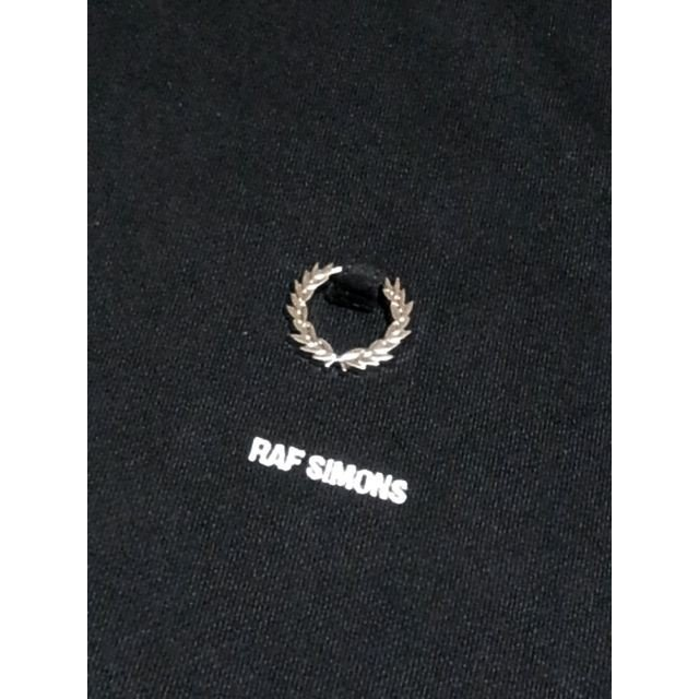 RAF SIMONS x FRED PERRY ラフ・シモンズ x フレッドペリー コラボ SM7067 PRINTED HOODED SWEAT BLACK ブラック|chambray-store|08