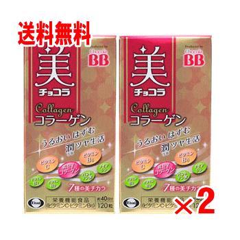 送料無料 超定番 お中元 美チョコラ 120粒×2個パック コラーゲン