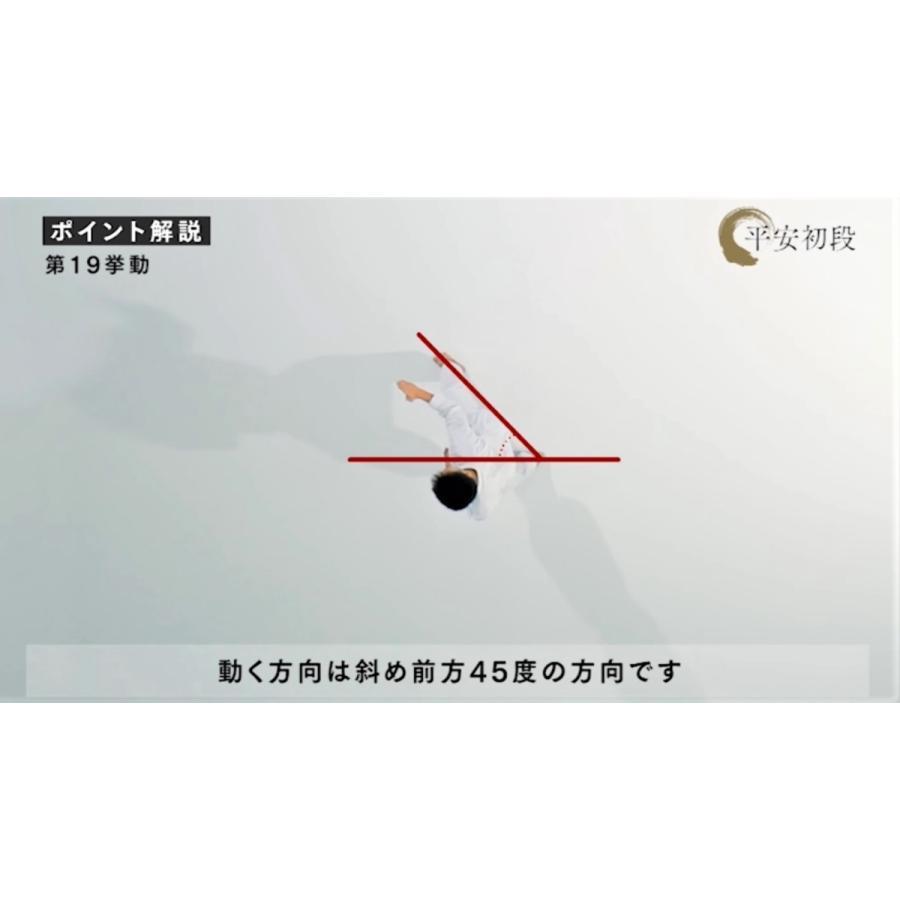 日本空手協会 空手道型 第一巻 (DVD)|champonline|04