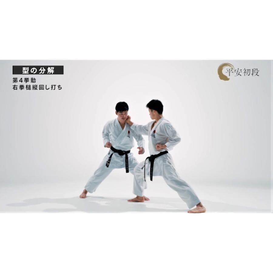 日本空手協会 空手道型 第一巻 (DVD)|champonline|05