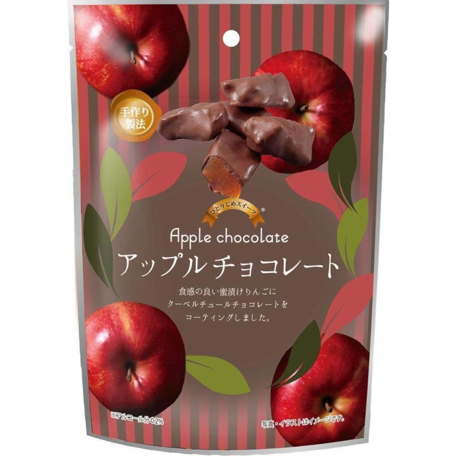 イーグル製菓 ひとりじめスイーツアップルチョコレート72g×6個