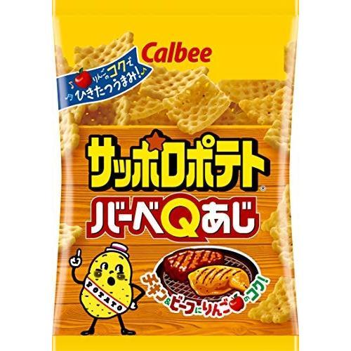 カルビー サッポロポテト バーベQあじ 24g × 24袋|chan-gaba|03