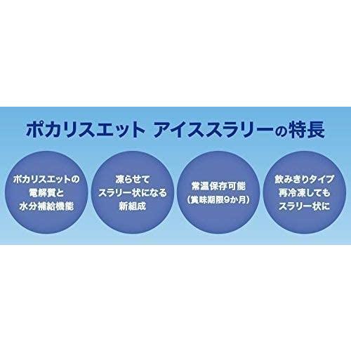 大塚製薬 ポカリスエット アイススラリー (100g×6袋)